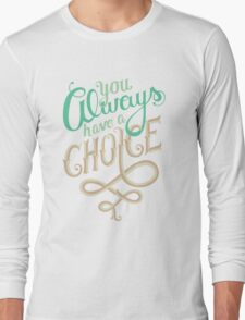 Supernatural Dean Winchester Quote Long Sleeve T-Shirt