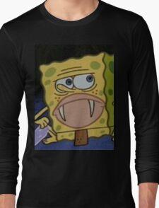 SPONGEGAR MERCH #2 Long Sleeve T-Shirt