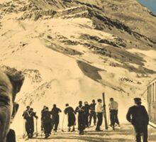 Vintage poster - Zermatt Sticker