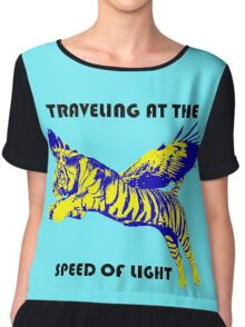 Traveling At The Speed Of Light Women's Chiffon Top