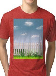 The Garden Fence Tri-blend T-Shirt