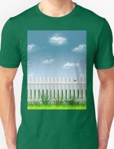 The Garden Fence Unisex T-Shirt