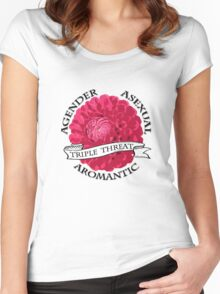 Triple A  Women's Fitted Scoop T-Shirt