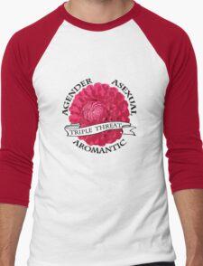 Triple A  Men's Baseball ¾ T-Shirt