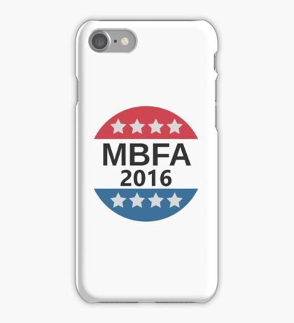 Make Baseball Fun Again Bat Sticker iPhone Case/Skin