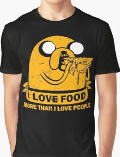 Food I love the Most Graphic T-Shirt