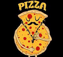 Unzip the Pizza by bykai