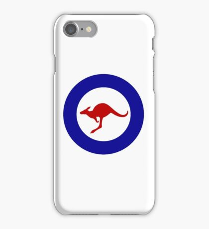 Roundel of the Royal Australian Air Force iPhone Case/Skin