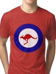 Roundel of the Royal Australian Air Force Tri-blend T-Shirt