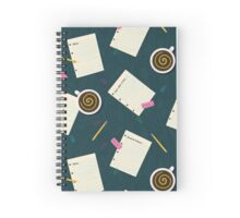 Hit the Books Spiral Notebook