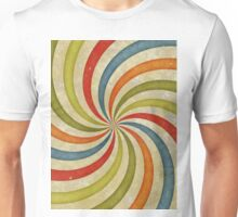 Psychedelic Retro Spiral Unisex T-Shirt