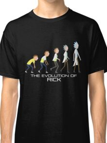 Rick and Morty- Evolution Classic T-Shirt
