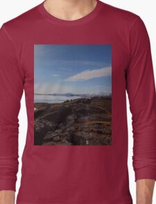 Sky Meets Water Long Sleeve T-Shirt