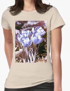 Crocus Infrared Womens Fitted T-Shirt