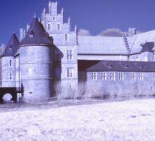 Castle of Herten in infrared Sticker