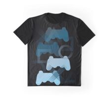 PS3 Gaming blue Graphic T-Shirt
