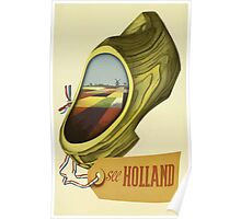See Holland Vintage Travel Poster Poster