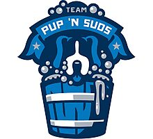 Team Pup N Suds Photographic Print