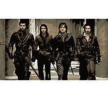 Musketeers Photographic Print