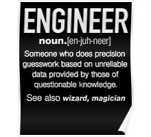 [Bestsellers] Funny Engineer Meaning Shirt - Engineering Noun Definition Poster