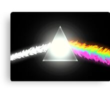 psychedelic dark side of the moon Canvas Print
