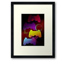 Gaming Colors  Framed Print