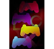 Gaming Colors  Photographic Print