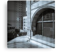 Reflections and Explorations in Fortitude Valley Canvas Print