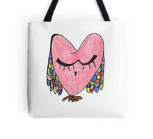 Demure Owl Tote Bag