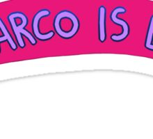 Animorphs - Marco Is Bi Sticker