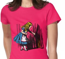 Curiouser and Curiouser Womens Fitted T-Shirt