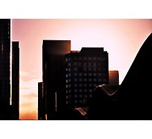 Sun in the City Photographic Print