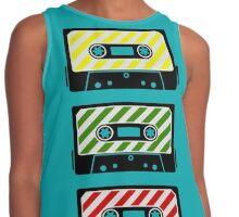 Reggae Cassette Contrast Tank