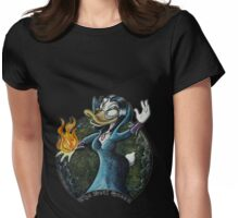 Evil Queen, Once upon a Duck Womens Fitted T-Shirt