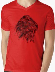 Walrus Mens V-Neck T-Shirt