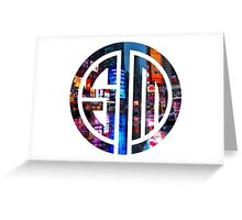 tsm, team solomid, solomid, proteam, community, game, gaming Greeting Card