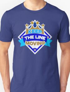 KC Royals: Keep the Line Moving Seal Unisex T-Shirt