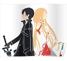 SAO minimalist Poster