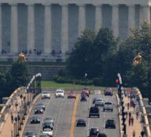 The Lincoln Memorial and the  Arlington Memorial Bridge  Sticker