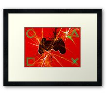 Explosive Gaming Framed Print