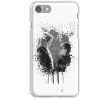 Clexa black and white iPhone Case/Skin