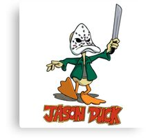 Jason Duck Canvas Print