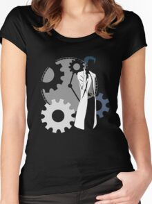 Maker of time machine - steins gate anime Women's Fitted Scoop T-Shirt