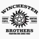 Winchester Brothers by DetourShirts