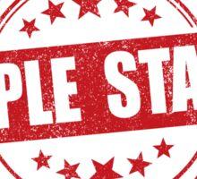 Triple Stamp Sticker