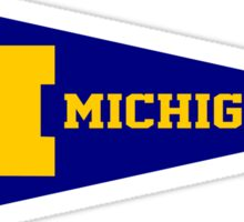 Michigan Pennant Sticker