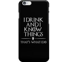 I know it all iPhone Case/Skin
