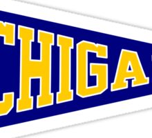Umich Pennant Sticker