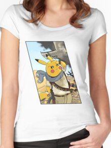 PikaDrake's Deception Women's Fitted Scoop T-Shirt