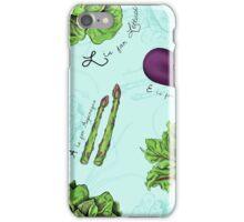 Alphabet Vegetables iPhone Case/Skin
